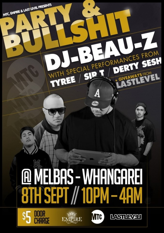 Party & Bullshit (Whangarei)
