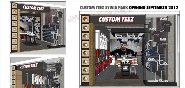 NEW CUSTOM TEEZ (SYLVIA PARK) Openning this SATURDAY.!!