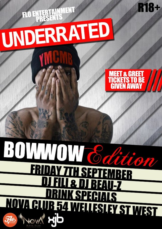Underrated Fri 7th Sept