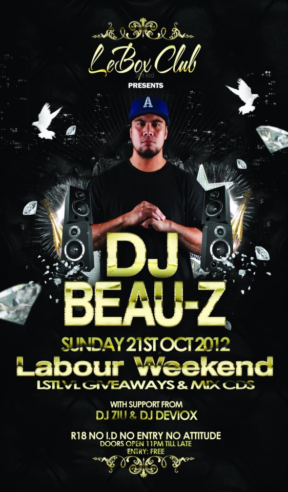 Le Box: Labour Weekend Special Ft Djbeauz