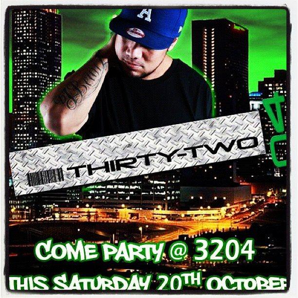 DJBEAUZ Live @ ThirtyTwo04 THIS SATURDAY