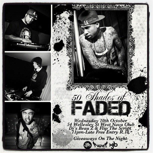50 Shades Of FADED.. This Wednesday