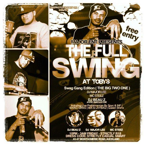 The Full Swing Ft DJBEAUZ